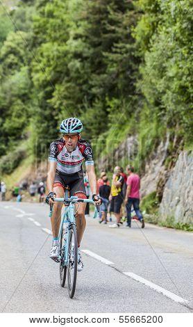 Laurent Didier Climbing Alpe D'huez