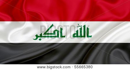 Flagge des Irak