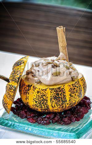 chocolate ganache pudding