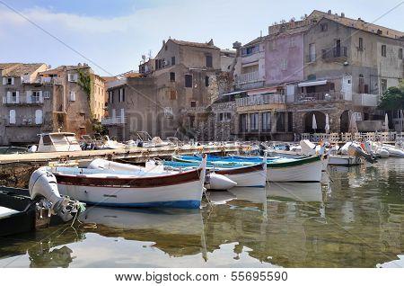 Typically Small Port Corsica