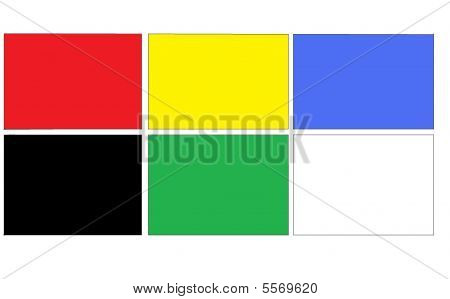 F1 Coloured Flags