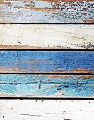 foto of driftwood  - Wooden panel or planks in nautical colors - JPG