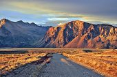 stock photo of steppes  - Argentine Patagonia - JPG