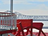 picture of paddling  - Paddle an old paddle steamer on the Mississippi - JPG