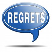foto of saying sorry  - regret or no regrets saying sorry and offer apologize being ashamed for bad decisions - JPG