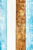 Bright Wooden Background Or Texture. Vivid Wood Board. Wooden Table Or Floor Plank, White, Brown And