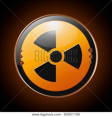 Nuclear Radioactive Symbol