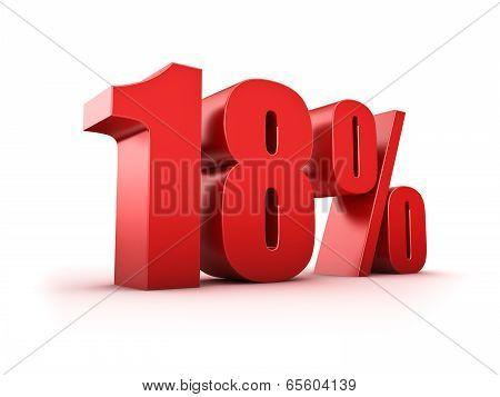 18 Percent