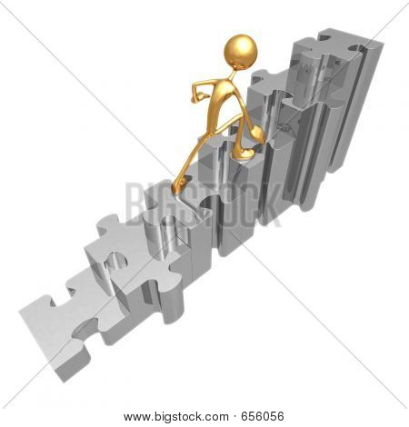 Puzzle Stairs