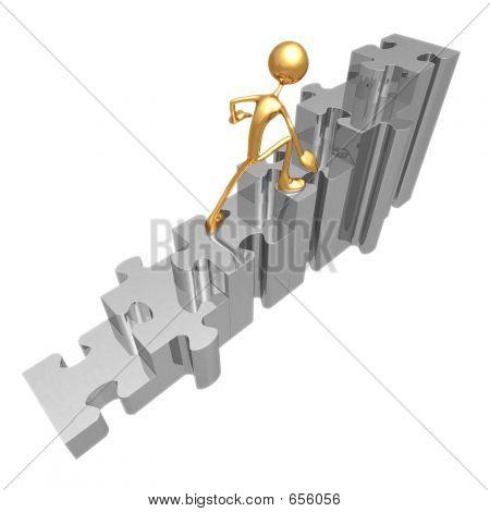 Puzzle escaleras