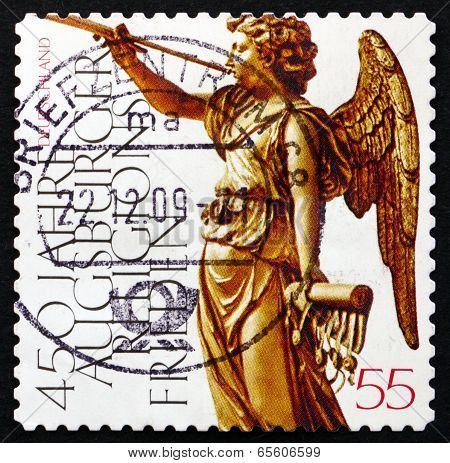 Postage Stamp Germany 2008 Peace Of Augsburg