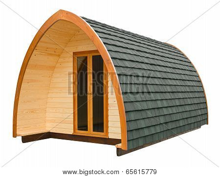 Log Cabin Isolated