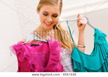 Selecting Clothes