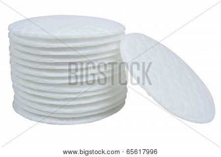Cotton Swabs Isolated On White