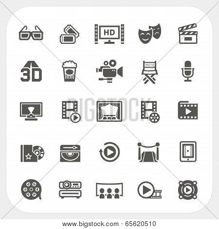 Movie Icons Set