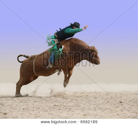 Cowboy On A Red Bull