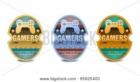Gamers labels