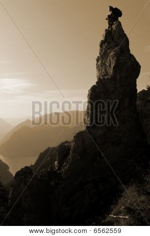 Mountain scener