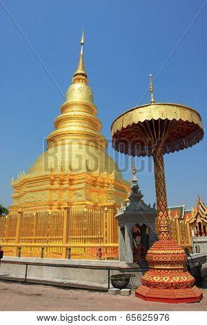 Lamphun pagoda