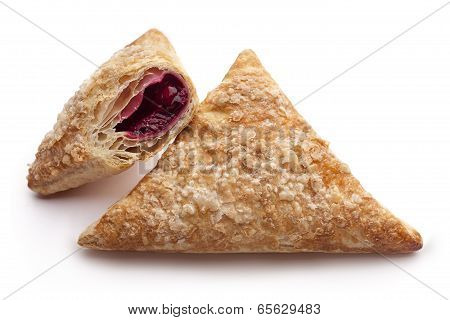 Puff Cherry Turnovers