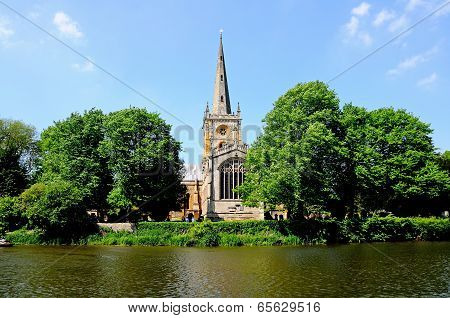 Holy Trinity Church, Stratford-upon-Avon.