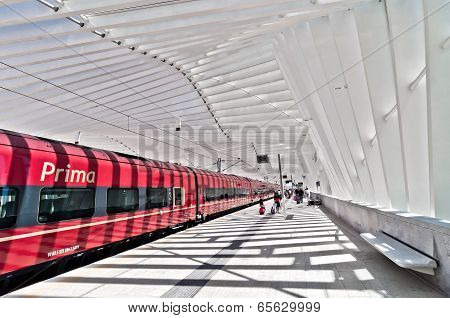 New High Speed Train Station in Reggio Emilia, Italy