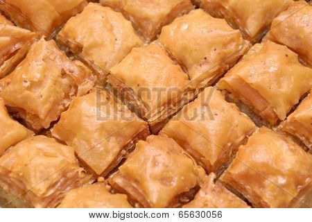 Traditional Homemade Turkish Baklava