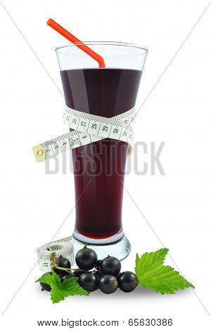 blackcurrant juice and meter