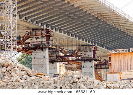bridge construction