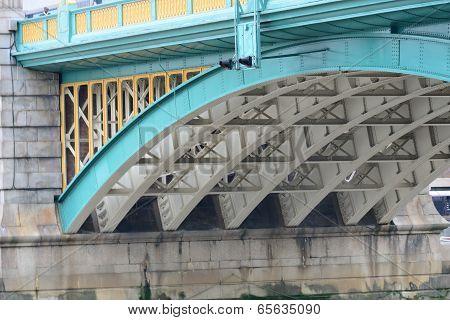 underneath southwark bridge