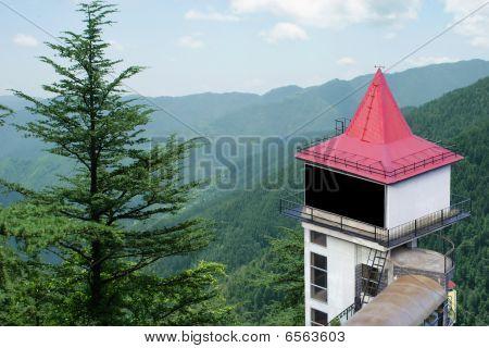Billboard in Himalayas