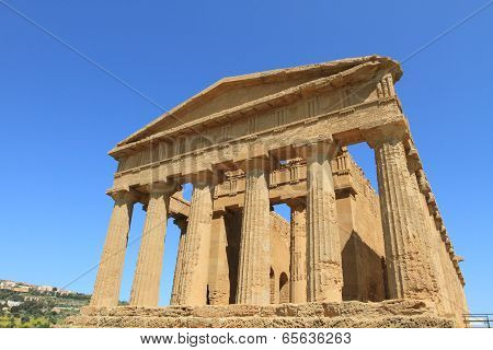 Valley of Temples in Agrigento, Sicily