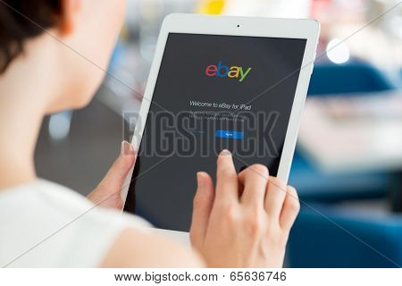 Ebay Application On Apple Ipad Air