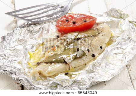Baked Pangasius In Tin Foil