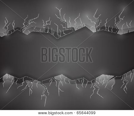 Background With Glass