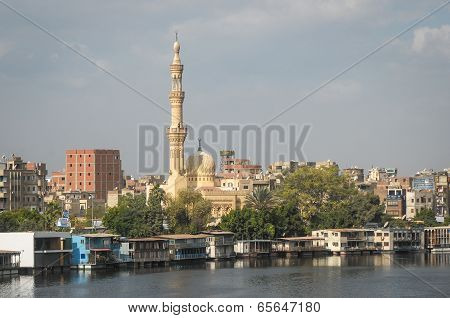 Buildings in Cairo, Egypt