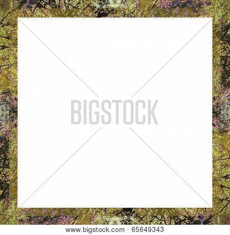 Floral Retro Frame