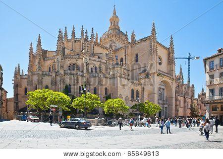 Segovia. Cathedral Of Saint Maria