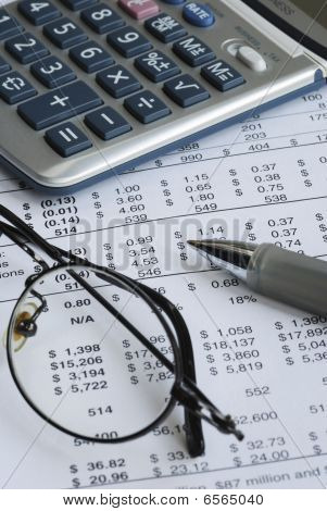Audit the company balance sheet and financial statement