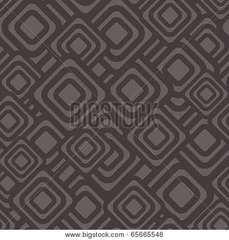 Seamless geometric dark pattern. Vector illustration.
