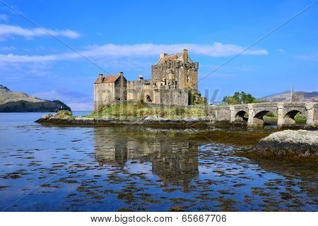 Iconic Scottish castle