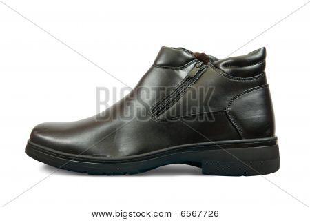 Black Wintry  Boot
