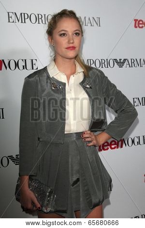 LOS ANGELES - SEP 27:  Maika Monroe at the Teen Vogue's 10th Annual Young Hollywood Party at Private Location on September 27, 2012 in Beverly Hills, CA
