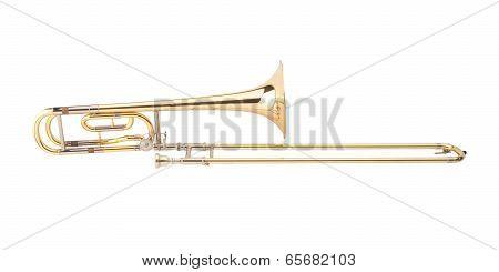 brass trombone