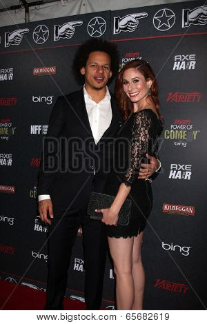 LOS ANGELES - NOV 18:  Eric Andre, Jessica Herman at the Variety's 3rd Annual Power Of Comedy Event at Avalon on November 18, 2012 in Los Angeles, CA