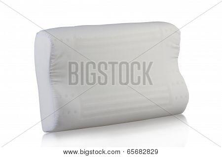 Clean white pillow