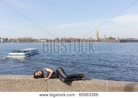 Girl In Sankt-peterburg