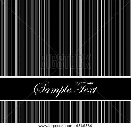 Black Barcode Background