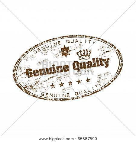 Genuine quality rubber stamp