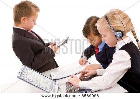Busy Children